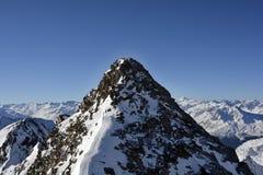 L'Austria, Tirolo, inverno Fotografia Stock Libera da Diritti