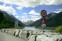 L'Austria, Tirolo, Kaunertal Fotografia Stock Libera da Diritti
