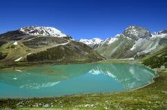 L'Austria, Tirolo, lago Fotografia Stock Libera da Diritti