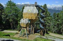 L'Austria, Tirolo, Pitztal Immagine Stock