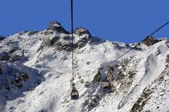 L'Austria, Tirolo, trasporto Immagine Stock Libera da Diritti