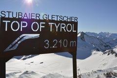 L'Austria, Tirolo, Wintersport Immagini Stock