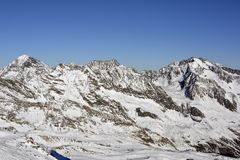L'Austria, Tirolo, Wintersport Fotografie Stock
