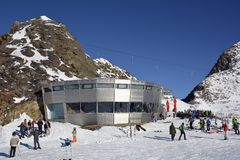 L'Austria, Tirolo, Wintersport Fotografia Stock