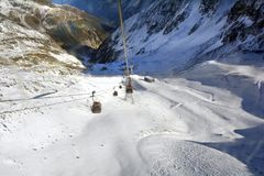 L'Austria, Tirolo, Wintersport Immagine Stock