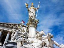 L'Austria, Vienna, il Parlamento Fotografie Stock Libere da Diritti