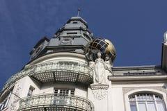 l'austria vienna Modernismo del campione nell'architettura Immagine Stock