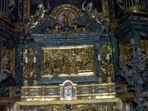 L'autel dans l'église du ¹ de Gesà est situé dans le ¹ de Piazza del Gesà à Rome Photos stock