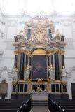 L'autel de Dean's dans la cathédrale de Wurtzbourg photographie stock libre de droits