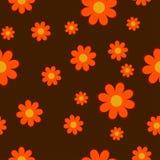 L'automne fleurit la texture sans couture Photographie stock libre de droits