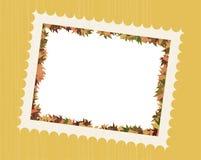 L'automne laisse la trame de photo Photos stock