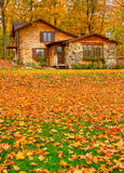 L'automne nettoient Image stock