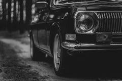 L'automobile dei periodi sovietici Fotografia Stock