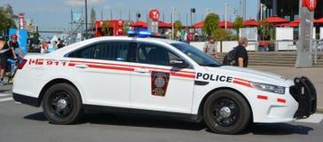 L'automobile del canadese forza la polizia militare Immagine Stock