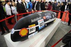 L'automobile del prototipo dell'università di Tongji dalla Cina Fotografia Stock Libera da Diritti