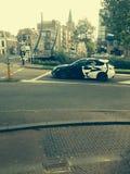 L'automobile della via è una bestia Immagini Stock Libere da Diritti