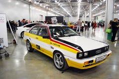L'automobile di Audi Quattro ad una mostra nell'Expo 2012 del croco Fotografie Stock