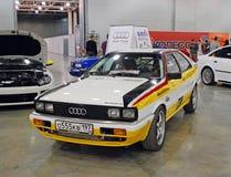 L'automobile di Audi Quattro ad una mostra nell'Expo 2012 del croco Immagine Stock Libera da Diritti