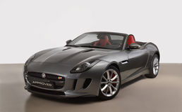 L'automobile di Jaguar Fotografia Stock