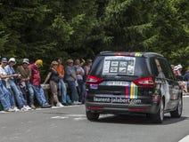 L'automobile di Laurent Jalabert Immagini Stock Libere da Diritti