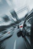 L'automobile digiuna azionamento Immagini Stock Libere da Diritti