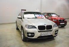 L'automobile E71 ad una mostra nel ` dell'Expo del croco del `, 2012 di BMW X6 mosca Immagini Stock