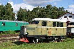 L'automobile ferroviaria Immagine Stock