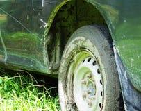L'automobile ha attaccato nel fango Fotografia Stock