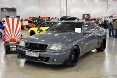 L'automobile SL R129 ad una mostra nel ` dell'Expo del croco del `, 2012 di Mercedes-Benz Fotografie Stock Libere da Diritti
