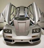 L'automobile sportiva con i portelli si apre Immagine Stock