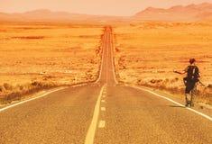 L'autostoppista Immagini Stock Libere da Diritti