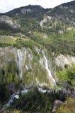 L'Autriche, Est-Tyrol, cascade images libres de droits