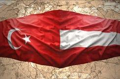 L'Autriche et la Turquie Photos stock