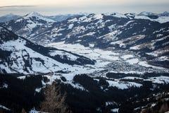 L'Autriche kitzbuhel Photo libre de droits