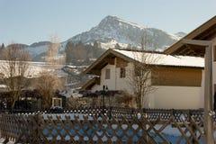 L'Autriche kitzbuhel Photos libres de droits