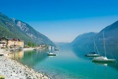 L'Autriche, lac Achensee dans le sommer Photographie stock libre de droits