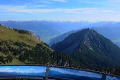 L'Autriche : Mountain View de Rofan au doigt d'Achensee le Ziller- et le Tux photo libre de droits