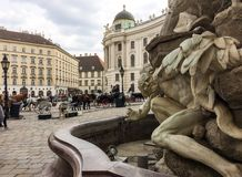 L'Autriche, Vienne images libres de droits
