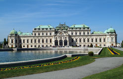 L'Autriche, Vienne, belvédère images libres de droits