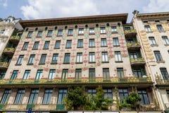 L'Autriche, Vienne, wien des maisons de rangée photographie stock libre de droits