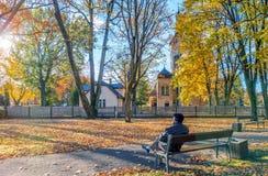 L'autunno è venuto fotografia stock libera da diritti