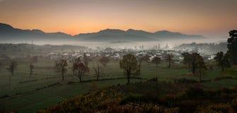 L'autunno dell'Anhui Cina Fotografie Stock Libere da Diritti