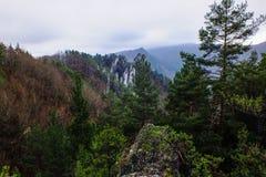 L'autunno in Sulovske skaly! Fotografia Stock Libera da Diritti