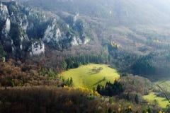 L'autunno in Sulovske skaly! Fotografie Stock