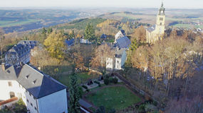 L'autunno tardo in Erzgebirge Fotografia Stock Libera da Diritti