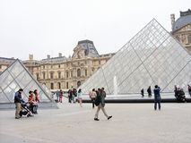 L'auvent à Paris Photo libre de droits
