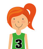 l'avatar de joueur a isolé la conception d'icône Illustration Libre de Droits