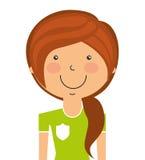 l'avatar de joueur a isolé la conception d'icône Illustration Stock