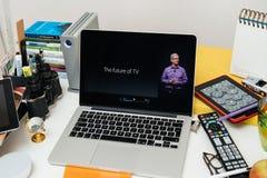 L'avenir de la TV Photos libres de droits