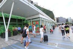 L'avenue des étoiles à Hong Kong Image libre de droits